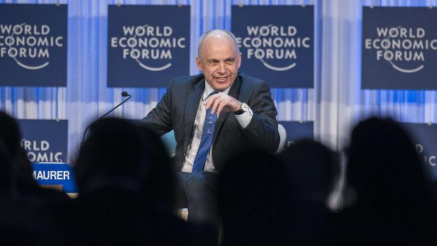 Ueli Maurer: «Am WEF fallen die ganzen Förmlichkeiten weg.»