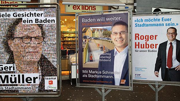 Geri Müller holt Spitzenposition bei Ammann-Wahlen in Baden