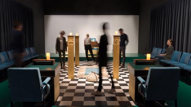 Die Freimaurer gewähren Einblick in ihr Heiligtum
