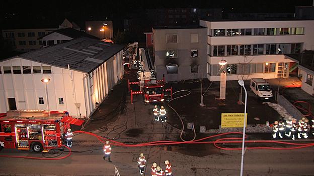 Schwerverletzter bei Brand in Widnau