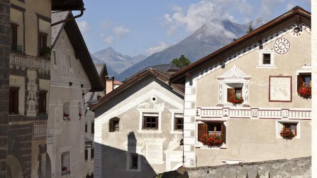Italianità en l'architectura grischuna