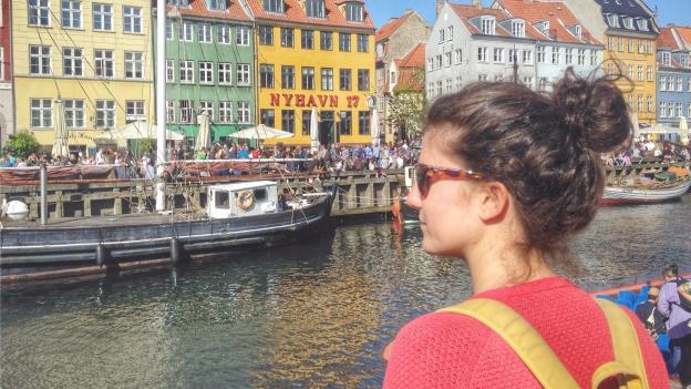 Med Ursina i København