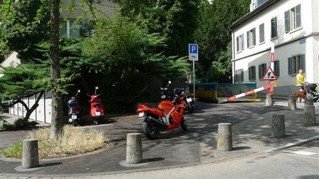Parkgebühr auch für Motorräder?