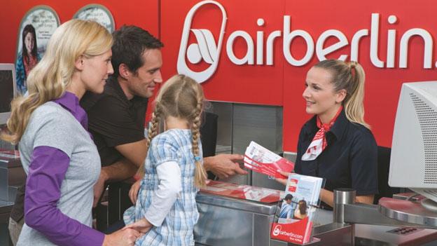 Lausiger Kundendienst bei Air Berlin
