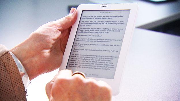 Wie die Bücher in die E-Book-Reader kommen
