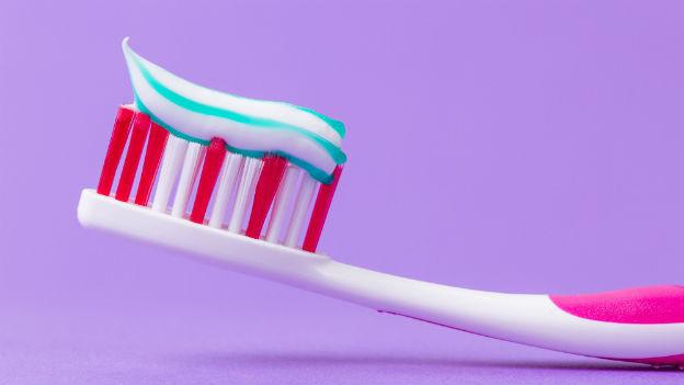 Audio «Gestreift, getupft oder uni: Die Zahnpasta» abspielen