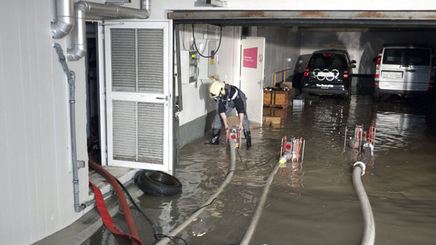 Überschwemmte Keller: Wer bezahlt den Schaden?