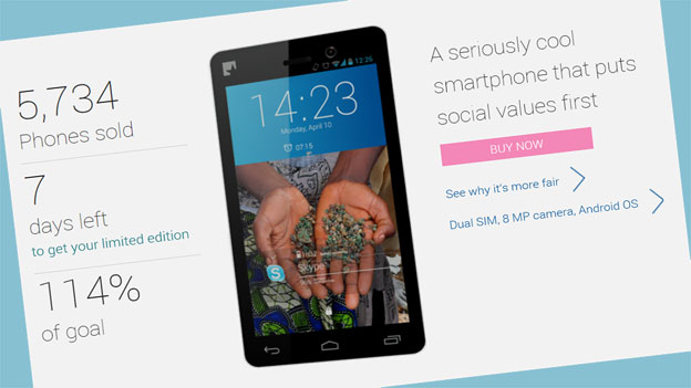 Faires Smartphone stösst in der Schweiz auf grosse Resonanz