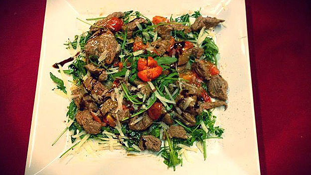 «Straccetti alla romana» - ein typisch römisches Gericht