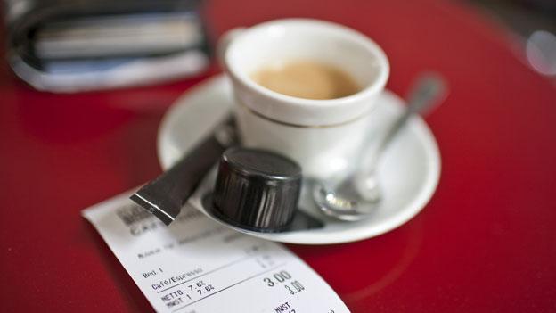 Kaffee: Im Tessin kostet der Espresso massiv weniger