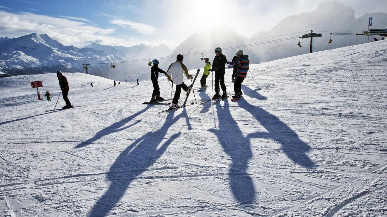 Skigebiete geben mit Pisten-Längen an