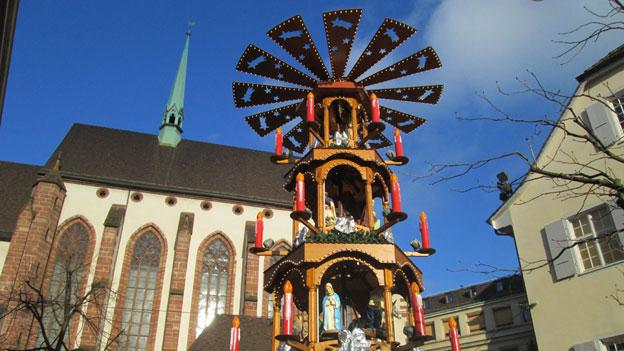 Basel – der grösste Weihnachtsmarkt der Schweiz