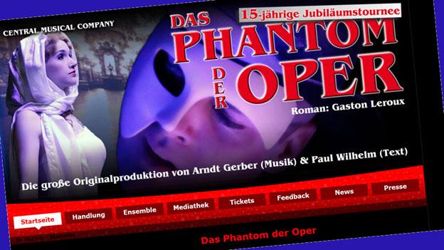 Die Phantome der Oper