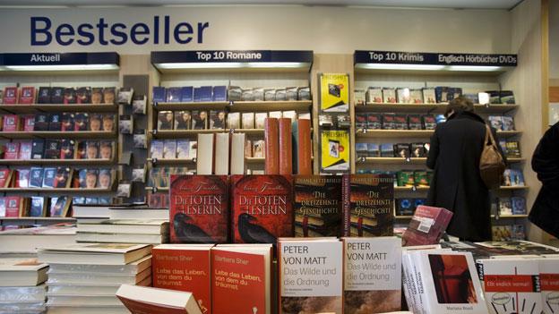 «Espresso Aha!»: Wann wird ein Buch als «Bestseller» verkauft?