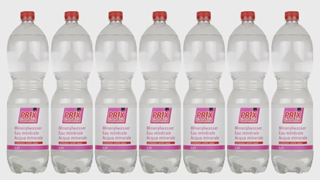 Audio «Plötzlich weniger Calcium im Prix Garantie-Mineralwasser» abspielen