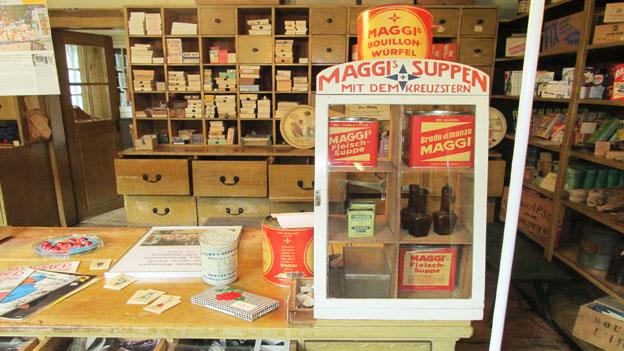Einkaufen Anno 1914: Maggi-Suppenwürfel, Schokolade und Kaffee