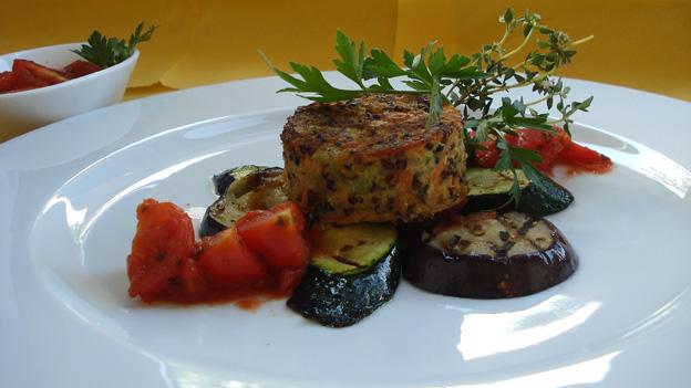 Quinoa-Tricolore-Brätlinge von Margrit Grendelmeier