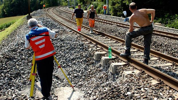 Vernachlässigter Gleisunterhalt geht ins Geld