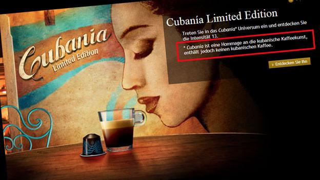 Audio «Cubanía: Nespresso-Kapseln ohne kubanischen Kaffee» abspielen
