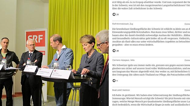 Ecopop: Das ganze «Abstimmungs-Forum» und die Hörer-Diskussion