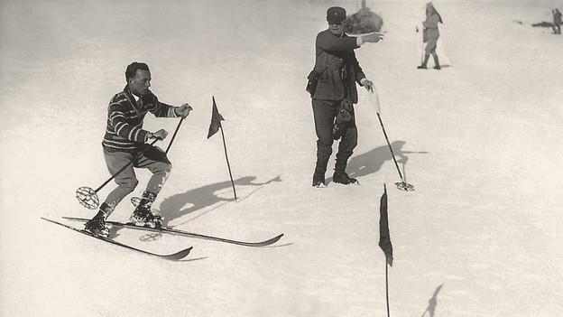Die Anfänge des alpinen Skirennsports