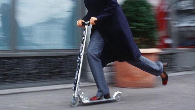 SBB: Kickboard wird gratis transportiert, das Trottinett nicht