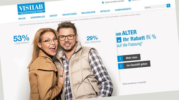 Visilab: Teure Brillen – trotz Altersrabatt