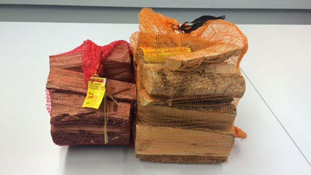 Wenn der Zehn-Kilo-Sack Brennholz nur fünf Kilogramm wiegt