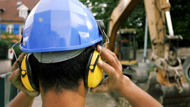 Grossbaustellen: Ohren zu und durch