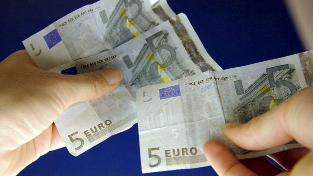 In der Schweiz mit Euro zahlen