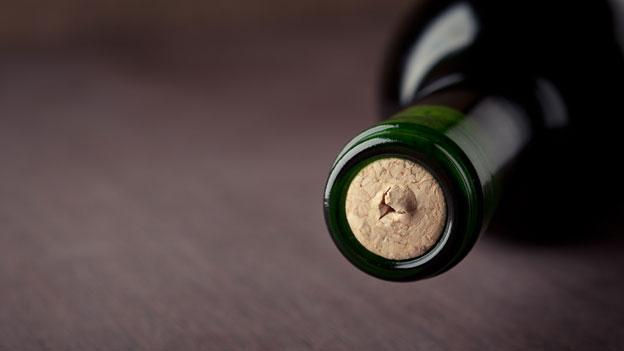 Die Grösse der Weinflasche spielt eine Rolle