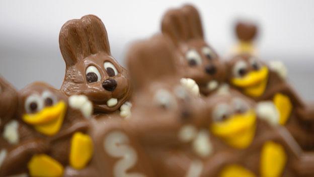 Was tun mit Schoggi-Hasen und –Eiern?