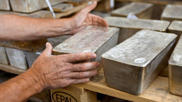 Audio «Gold, Silber und die Mehrwertsteuer» abspielen