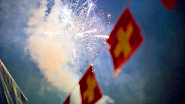 Verbot oder Regen: Was tun mit gekauftem Feuerwerk?