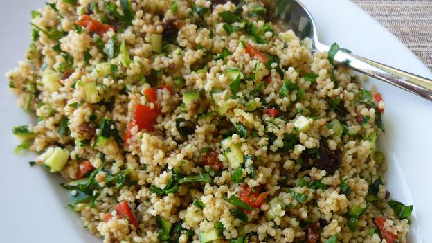Salatvariationen mit Couscous