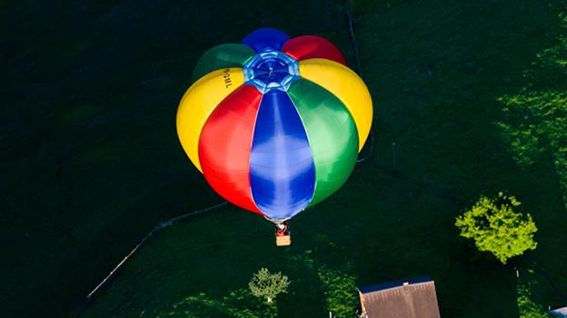 Wenn die Ballonfahrt schon vor dem Start zur Nervensache wird