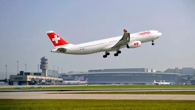Flüge ab Zürich sind im Vergleich meist die teuersten