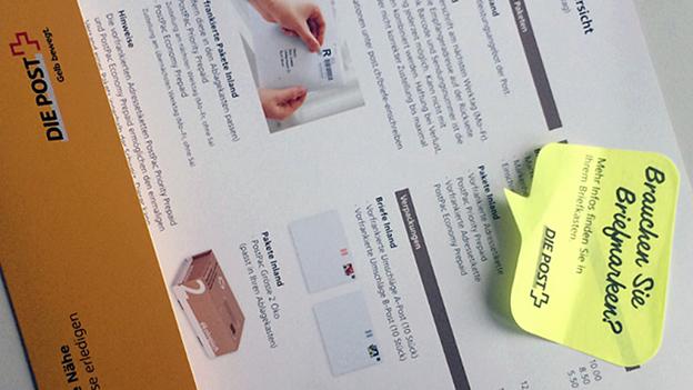 Post wirbt mit Post-it-Kleber – Der Briefkasten-Ärger geht weiter