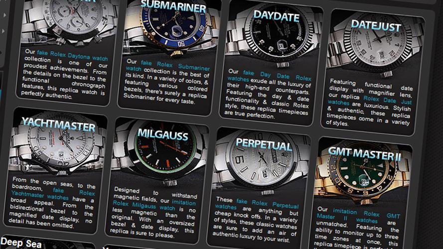 Uhren-Piraterie