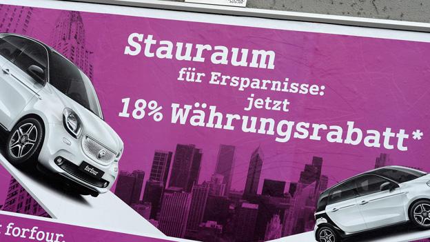 Aufhebung Euro-Mindestkurs