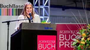 Audio «Der Schweizer Buchpreis 2015 geht an Monique Schwitter» abspielen.