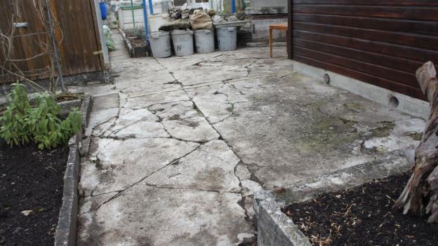 Schrebergarten: Zoff wegen alter Steinplatten