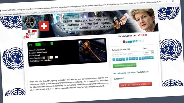 Audio «Achtung: Wieder macht Schadsoftware im Namen von Fedpol die Runde» abspielen
