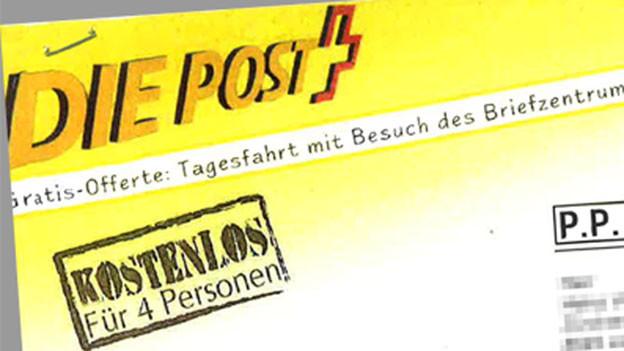 Audio ««Kafifahrt» ins Briefzentrum der Post: Die Post weiss von nichts» abspielen