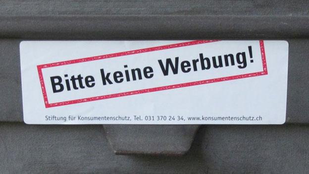Neuer Anlauf: Post kämpft gegen Stopp-Werbung-Kleber
