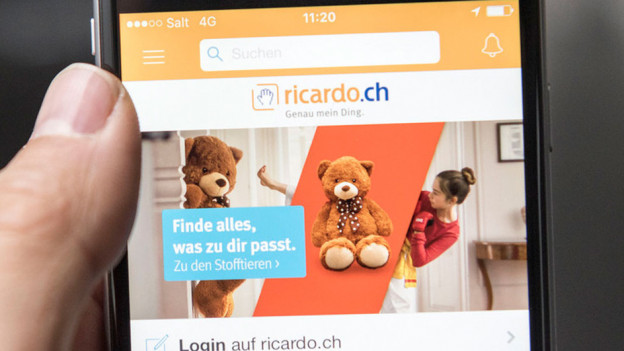 Audio «Streit um viel Geld wegen vermeintlichem Ricardo-Schnäppli» abspielen.