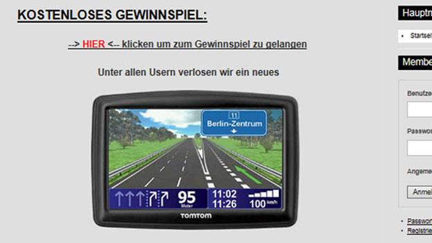 «Abzocke pur!»: Abofalle über Routenplaner im Internet