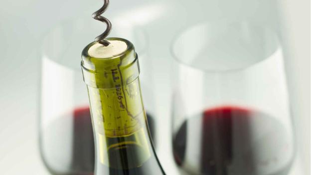Audio «Zapfengeld: Mit dem eigenen Wein ins Restaurant» abspielen.
