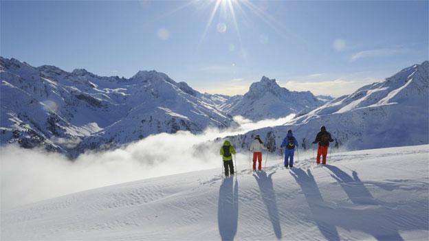 Tiroler Skiorte steigen beim Swisspass ein
