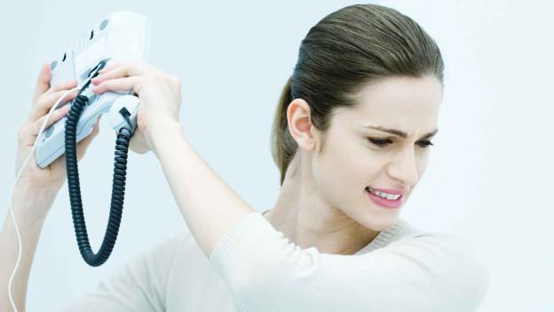 Audio «Wenn das Telefon nonstop klingelt» abspielen.